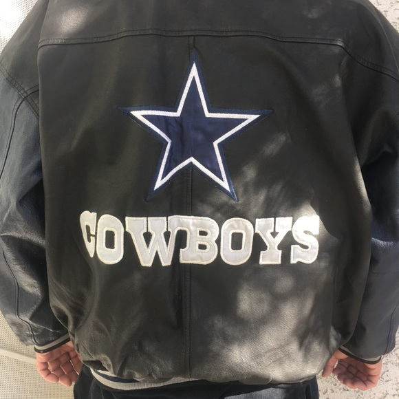 Game Day Other - COLLECTORS DALLAS COWBOYS GENUINE LEATHER JACKET a2d890a04